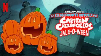 La escalofriante historia del Capitán Calzoncillos: Jale-o-ween (2019)